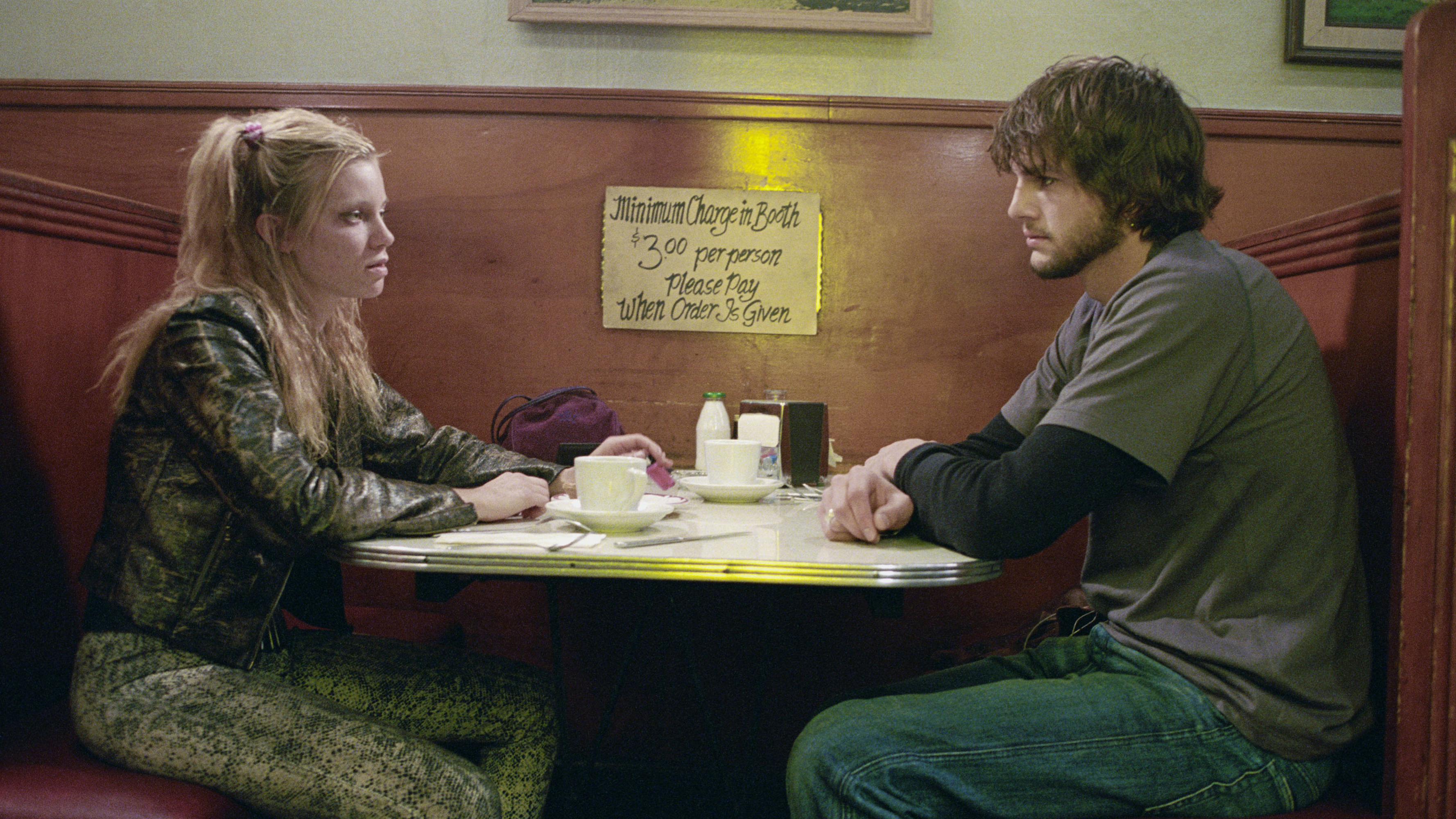 Amy Smart and Ashton Kutcher in 2004's highly panned but misunderstood 'The Butterfly Effect'.