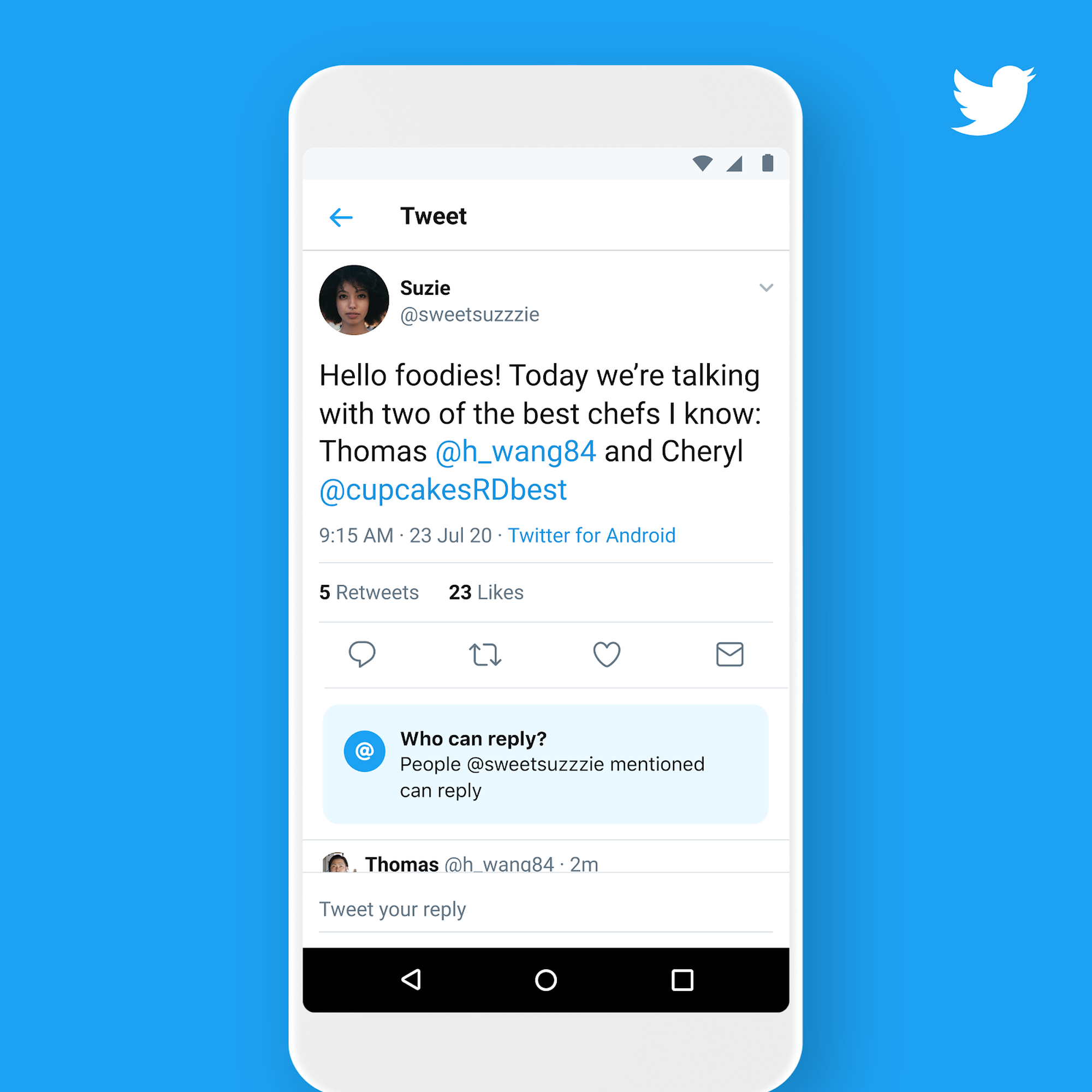 Twitter gives everyone the power to limit tweet replies (for real this time)